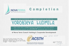 2015 - Nova Terra - Coaching
